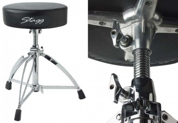 Stagg Drumhocker DT220R