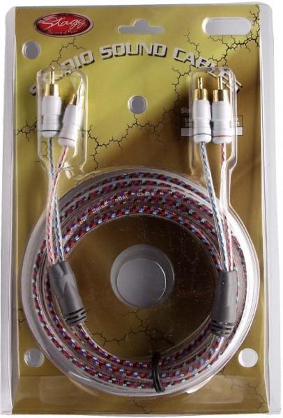 Pro HiFi kabel - 2x Cinch M/ 2x Cinch M