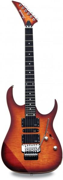 E-Gitarre SUNSMILE Modell SJS 300
