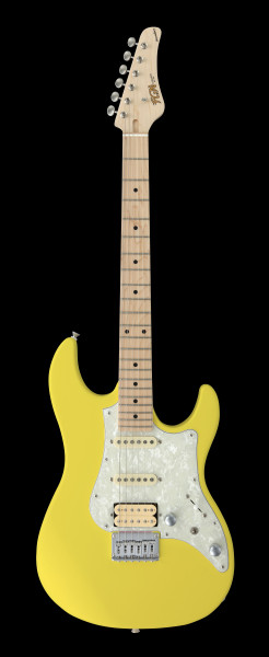 FGN E-Gitarre, Boundary Odyssey, Old Canary Yellow, Tasche, FGBOSMOCY