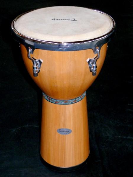 Afrikanische handgefertigte Djembe Tomay WDB1325N
