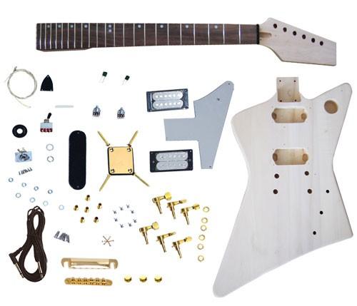 E-Gitarren Bausatz SUNSMILE Modell GK SFB 10
