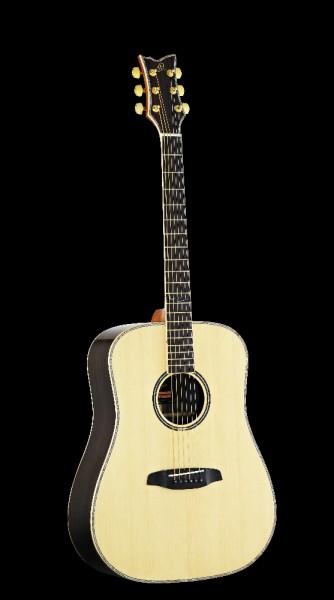 ORTEGA Westerngitarre 6-Saitig JADE-20E mit Tonabnehmer