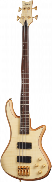 SCHECTER Bassgitarre, Custom Stiletto 4, Natural Satin, SC2531