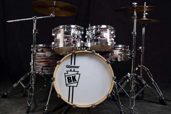 GLAMOR 5-teiliges Drum Set BK-522-IT
