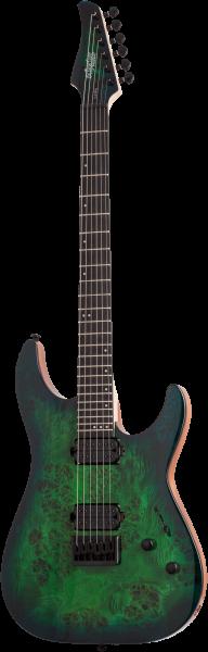 SCHECTER E-Gitarre, C-6 Pro, Aqua Burst, SC3632