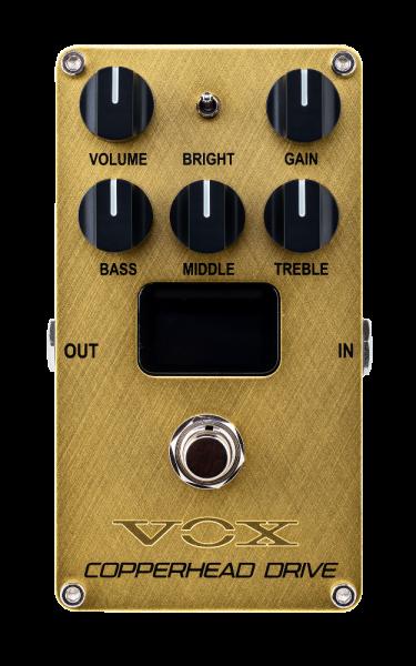 VOX Effektpedal, Preamp, VALVENERGY, Copperhead Drive, Nutube, Rock-Sound VXVALVENERGYCD
