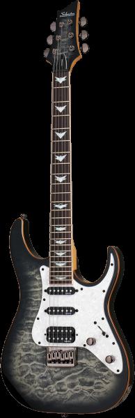SCHECTER E-Gitarre, Banshee 6 Extreme, Charcoal Burst SC1992