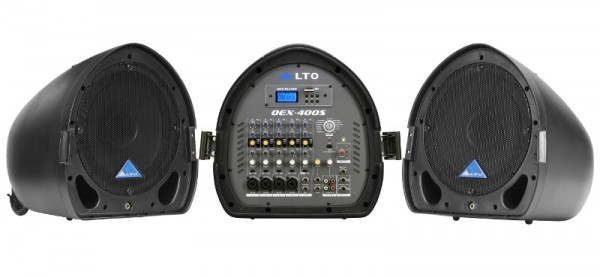 ALTO Mobiles Stereo PA-System OEX400S mit MP3 Player