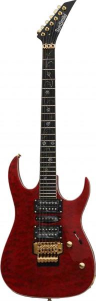E-Gitarre SUNSMILE Modell SJSQ 280