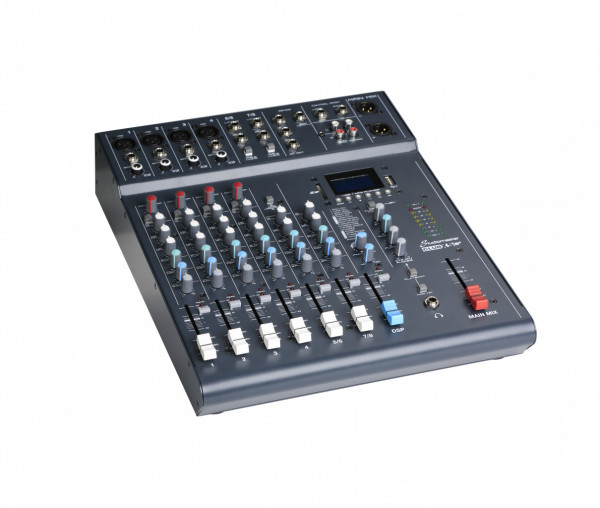 6 CH 8 IN MIXER+FX FOOTSWITCH, CLUB XS8+