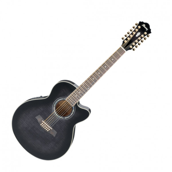 E-Akustik Gitarre Ibanez AEL2012E TKS 12-Saiter