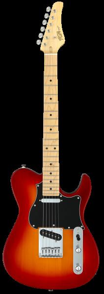 FGN E-Gitarre, Boundary Iliad, 2x Singlecoil, Cherry Sunburst, FGBIL2MCS