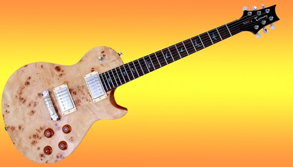 E-Gitarre Tomay PRS-Style Exotic