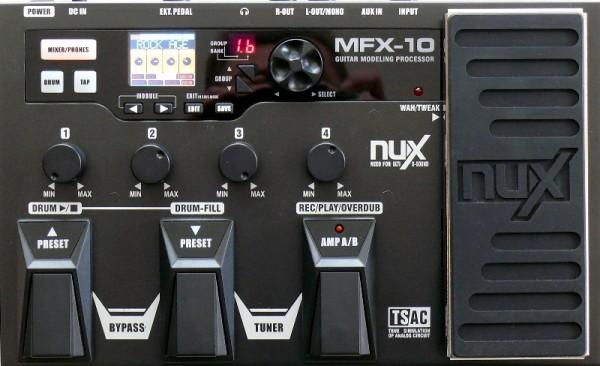 Gitarren Effektpedal MFX-10