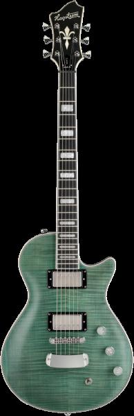 HAGSTROM E-Gitarre, Ultra Max, Fall Sky Satin HSULTRAMAX68