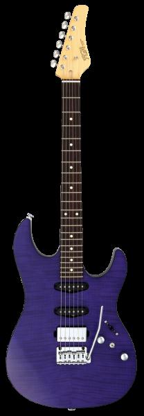 FGN E-Gitarre, J-Standard Odyssey DU, Transparent Purple Flat, FGJOS2DUFMRTPF