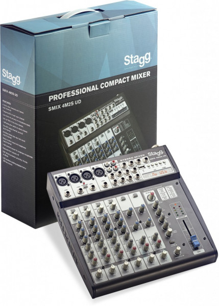 SMIX 4M2S UD*EU Multi-Kanal Stereomixer Stagg