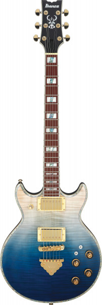 IBANEZ Artist E-Gitarre 6 String Transparent Blue Gradation, AR420-TBG