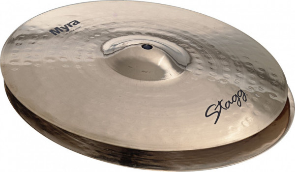"Stagg 14"" Myra Brilliant Rock Hi-Hat MY-HR14B"