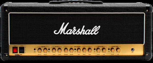 MARSHALL E-Gitarrentopteil, Vollröhre, 100 Watt, 2-Kanal,MRDSL100HR