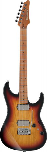 IBANEZ AZ-Series E-Gitarre 6 String Tri Fade Burst + Case M20AZ, AZ2202A-TFB