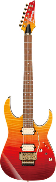 IBANEZ RG-Serie E-Gitarre 6 String Autumn Leaf Gradation, RG420HPFM-ALG