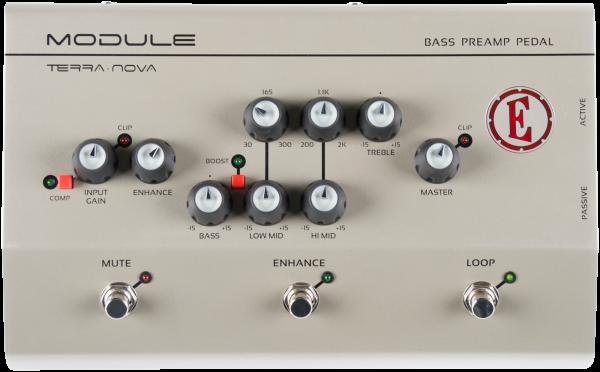 EDEN Multipedal-Bass, Modul, Terra Nova Serie, Preamp/D.I., EDTNMODULE