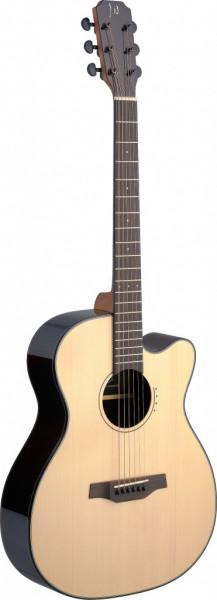 James Neligan LYN-ACFI Lyne Serie, E/A Auditorium Gitarre m. Cutaway