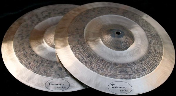 """14"""" Hi-Hat Tomay F-Style heavy"""