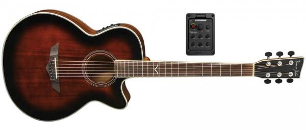 VGS E-Akustikgitarre V-2 CE Passat aged sunburst