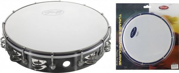 "Kunststoff-Tambourin 12"" TAB-212P/BK"
