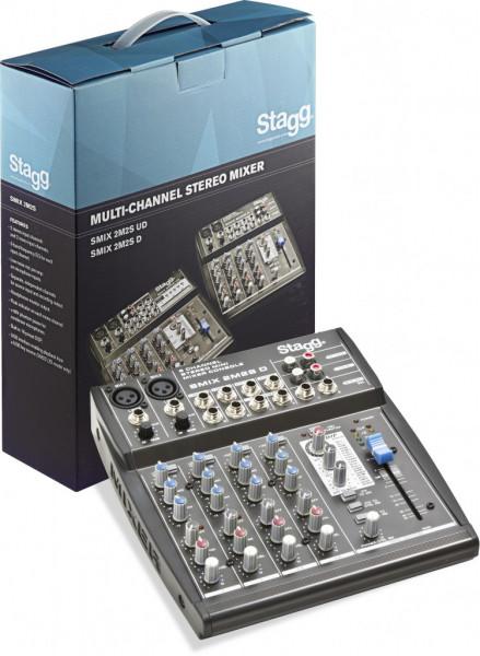 SMIX 2M2S D EU Multi-Kanal Stereomixer Stagg
