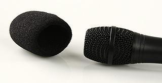 Windschutz für Mikrofone (Schwarz)