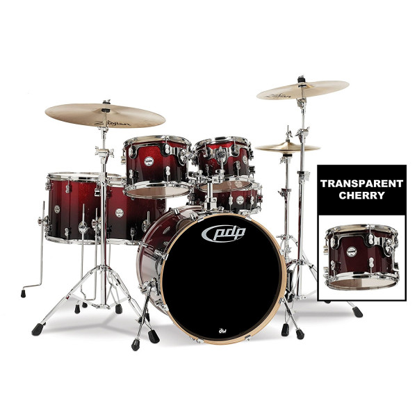DW Pacific PDP CM6 Concept Maple 6 Piece Shell Pack