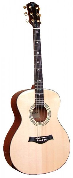 Westerngitarre UNIWELL, vollmassiv, CGS-770MS