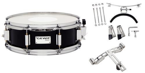 MARCHING SNARE 13x5 BLACK