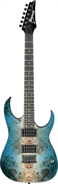IBANEZ RG-Serie E-Gitarre 6 String Caribbean Shoreline Flat, RG421PB-CHF