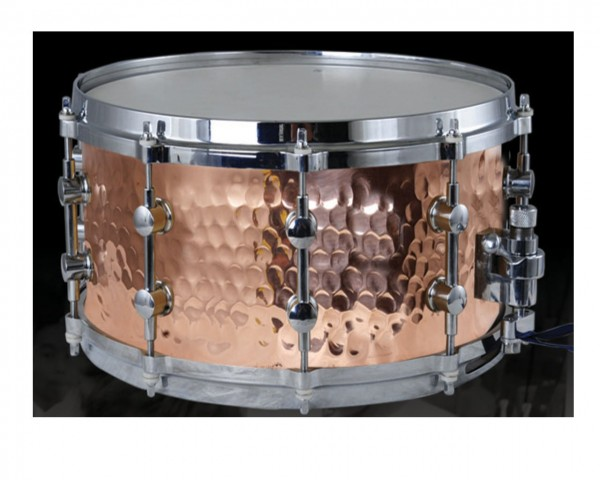 MES Hand Hammered Copper Shell Snare