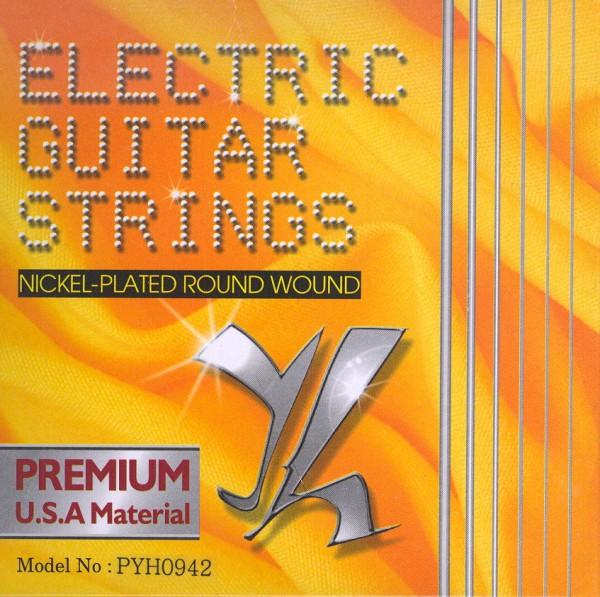 Saiten für E-Gitarre Tomay Premium 09-42