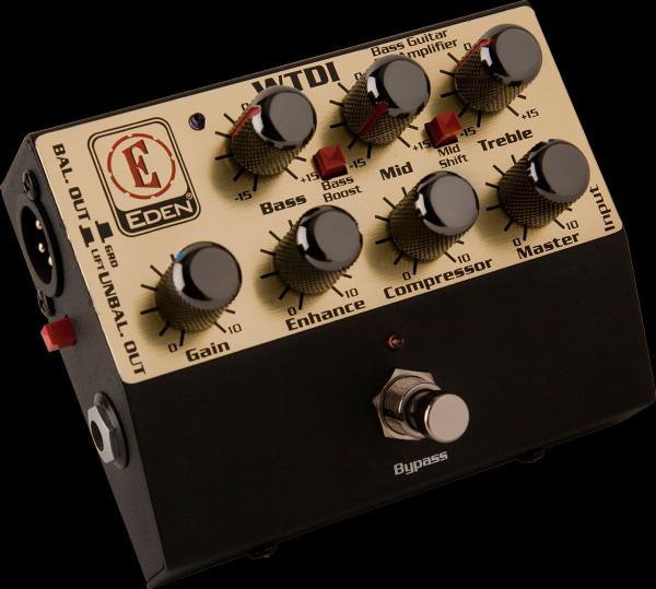 EDEN Multipedal-Bass, DI-Pedal, Preamp, EDWTDI