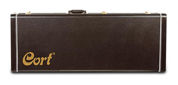 CORT Koffer, CGC75, schwarz, für E-Bass, COGC75BK