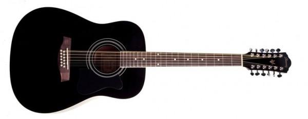 Ibanez Westerngitarre 12-Saitig V7212E-BK