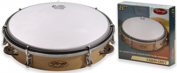 """Holz-Tambourin 8"""" TAWH-081T"""