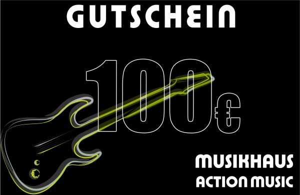 ACTION MUSIC Gutschein über 100.-€