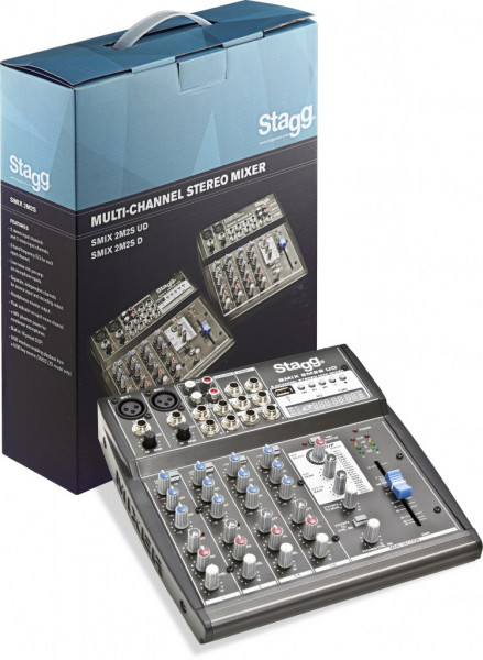 SMIX 2M2S UD EU Multi-Kanal Stereomixer Stagg
