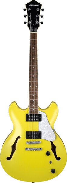 IBANEZ Artcore Hollowbody Gitarre 6 String Lemon Yellow, AS63-LMY