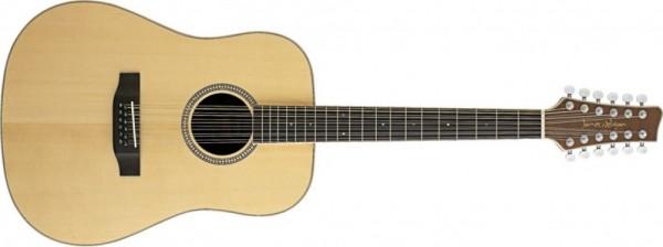 Westerngitarre Stagg, 12-saitig, NA30/12