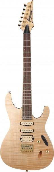 IBANEZ SEW Serie E-Gitarre 6 String Natural Flat, SEW761FM-NTF