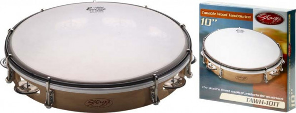 """Holz-Tambourin 10"""" TAWH-101T"""